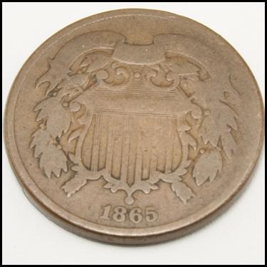 1864-1873 2 Cent