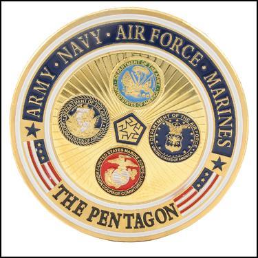 US Pentagon Clad