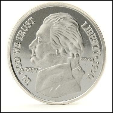 .999 Silver Jeff