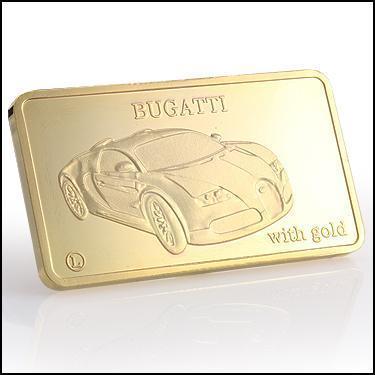 24K Bugatti Car