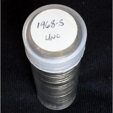 1968-S 5c Roll