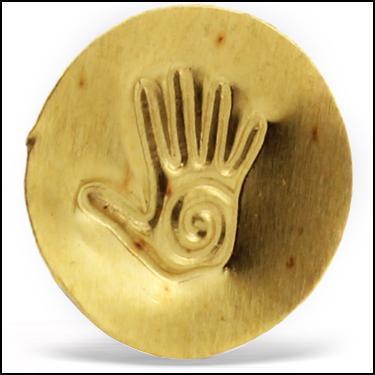 24K Gold Hand