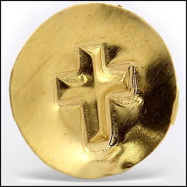24K Gold Cross