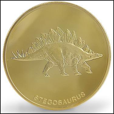 Stegosaurus Coin