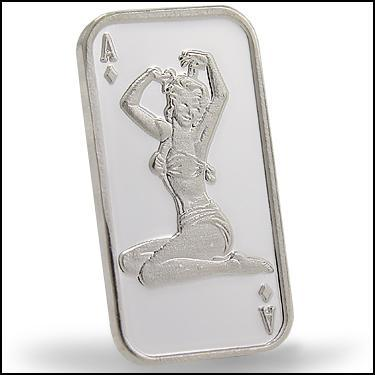 .999Silver Pinup