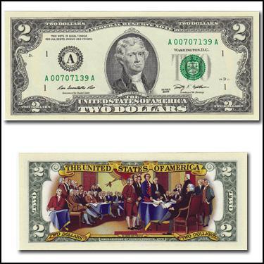 Colorizd $2 Bill