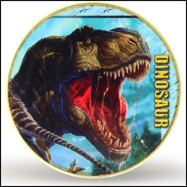 24K T-Rex Dino