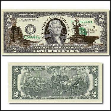 US Navy $2