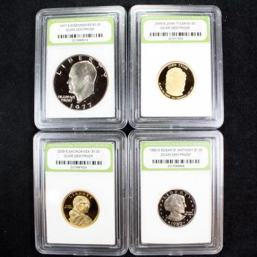 4 Coin PR $1.00