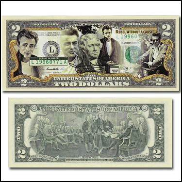 James Dean $2