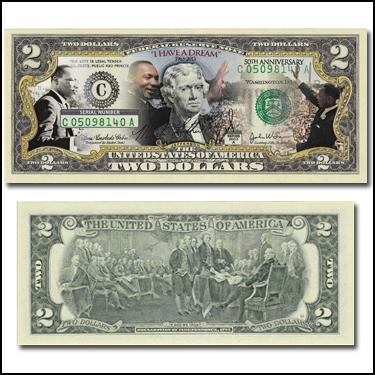 MLK 50th Ani $2