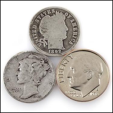 Set of 3 Dimes