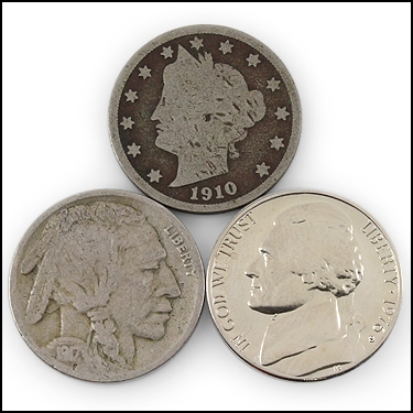 Set of 3 Nickels