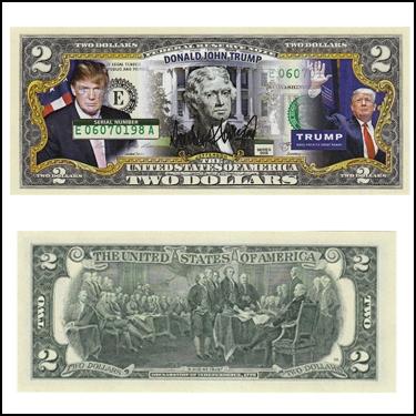 DONALD TRUMP $2