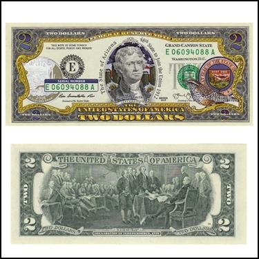 ARIZONA $2
