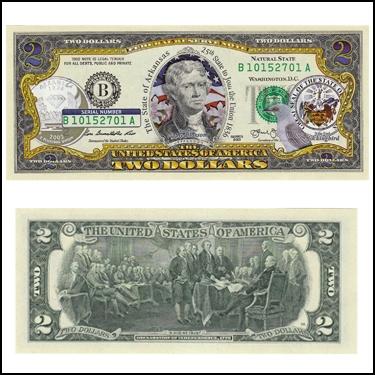 ARKANSAS $2