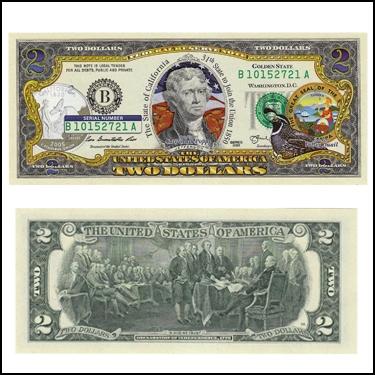 CALIFORNIA $2