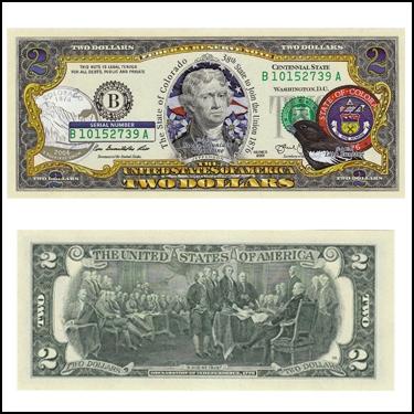 COLORADO $2