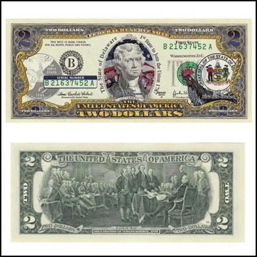 DELAWARE $2