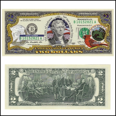 INDIANA $2