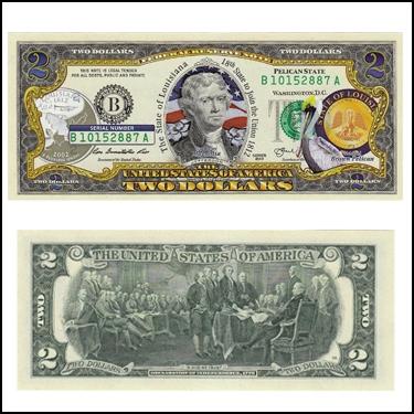 LOUISIANA $2