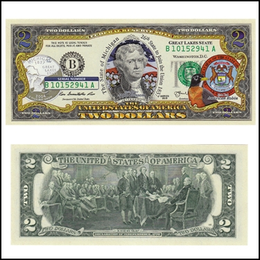 MICHIGAN $2