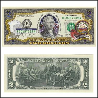 NEW HAMPSHIRE $2