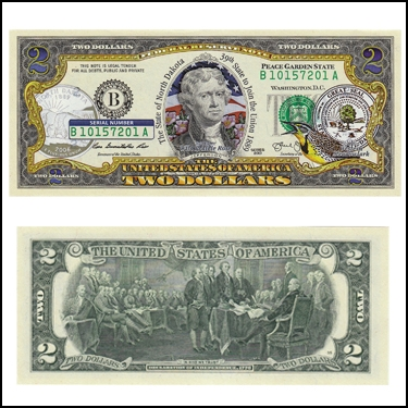 NORTH DAKOTA $2