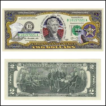 OKLAHOMA $2