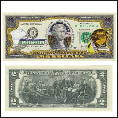 OREGON $2