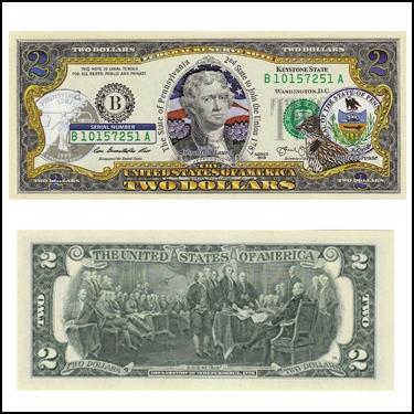 PENNSYLVANIA $2