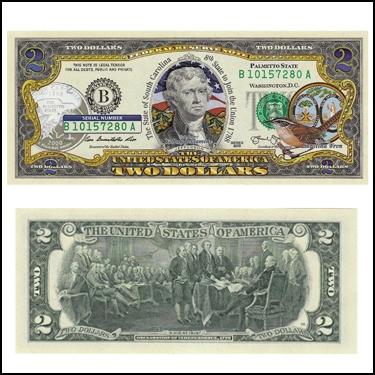 SOUTH CAROLINA$2
