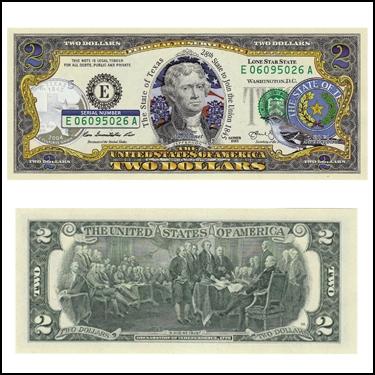 TEXAS $2