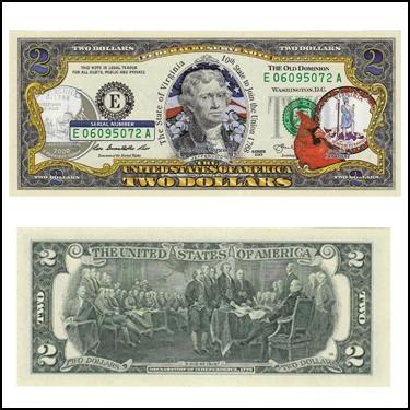 VIRGINIA $2