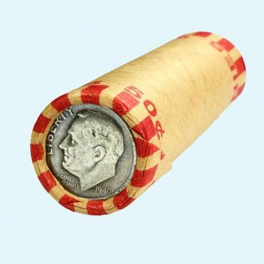 1949 10¢ on 1¢