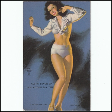 Pin Up Card 1940