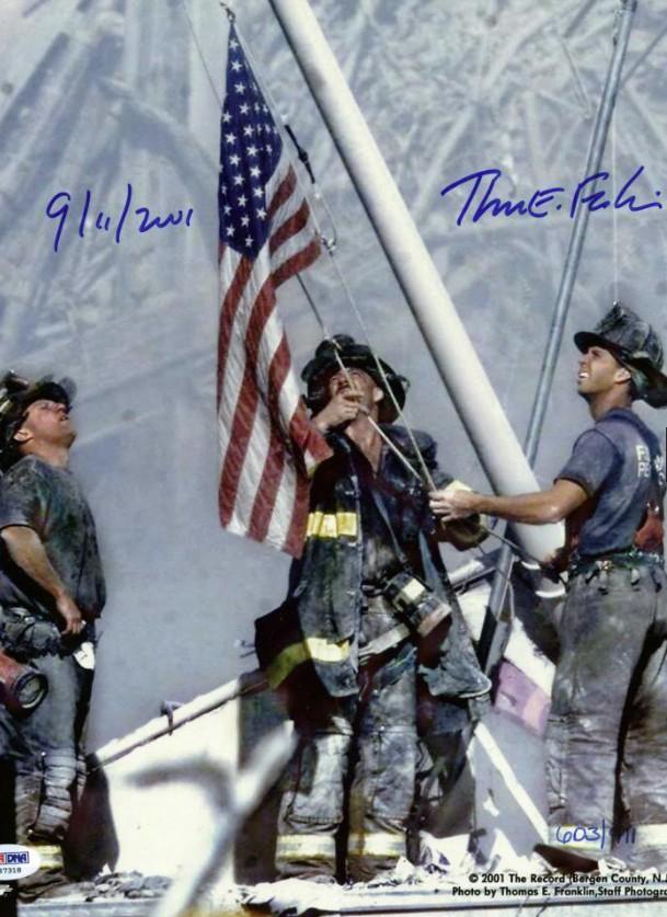 HUGE 9/11 SIGNED