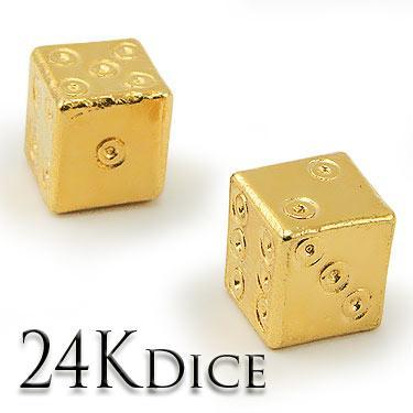 24K Roman Dice