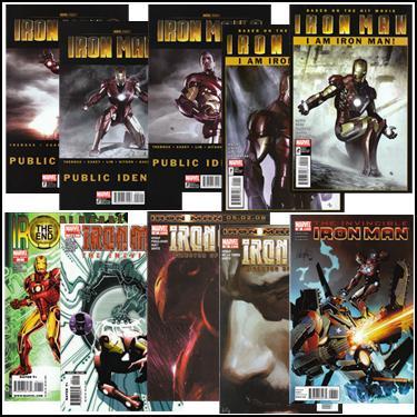 Lot of Iron Man