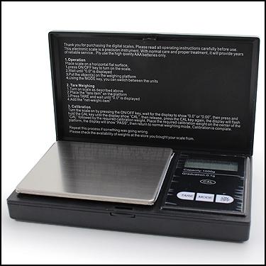 Blk DGTL Scale