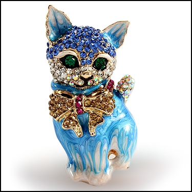 Crystal 3D Cat