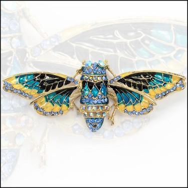 Gold Tone Moth