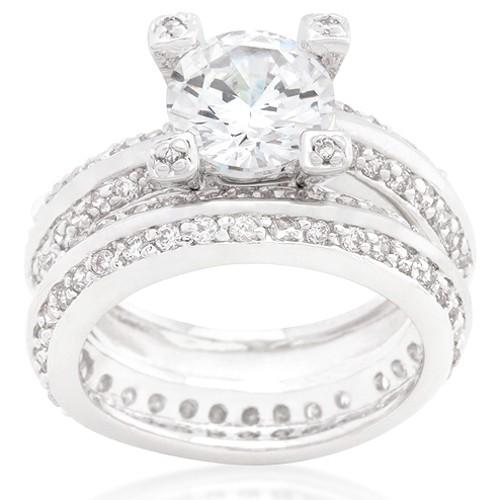 Pave Ring Set