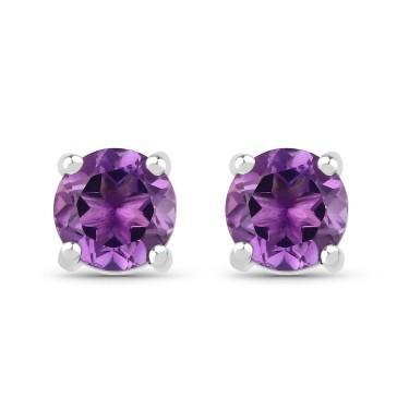 Amthyst Earrings