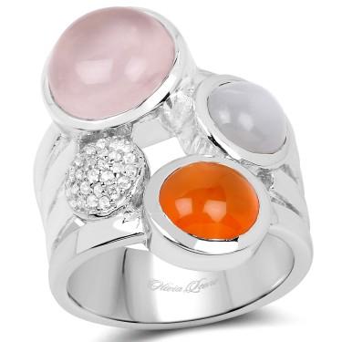 Multi-Gem Ring