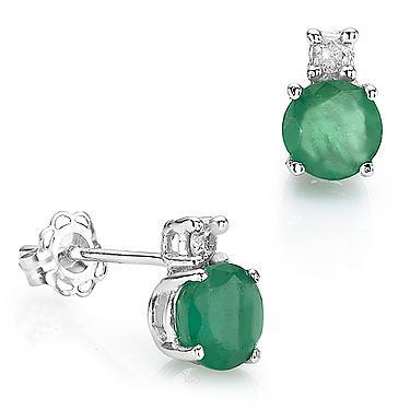14K Gold Emerald