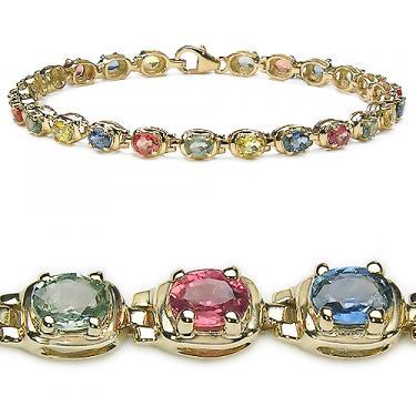 6 CTW Sapphires!