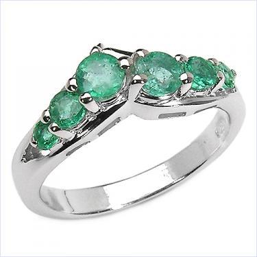 0.84 CTW Emerald