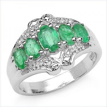 1.53 CTW Emerald