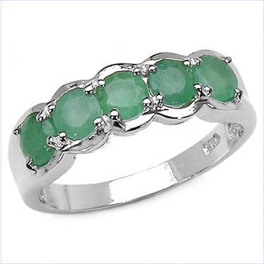 1.25 CTW Emerald